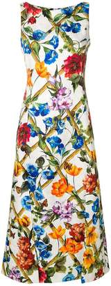 Dolce & Gabbana floral printed dress