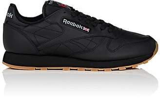 496ed6b5e552f Reebok Men s Classic Leather Sneakers - Black