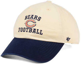 '47 Chicago Bears Steady Two-Tone Clean Up Cap
