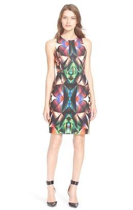 Milly Prism Print Racerback Sheath
