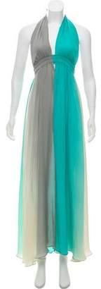 LoveShackFancy Silk Backless Dress