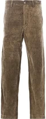 Ziggy Chen pinstripe trousers