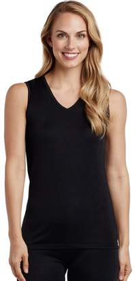 Cuddl Duds Women's Softwear Lace Trim Tank
