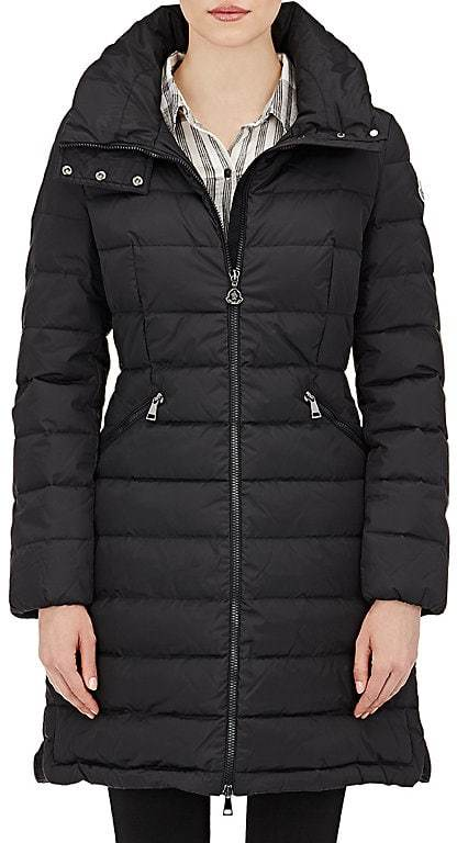 Moncler Moncler Women's Down-Quilted Flammette Coat