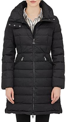 Moncler Women's Down-Quilted Flammette Coat $1,300 thestylecure.com