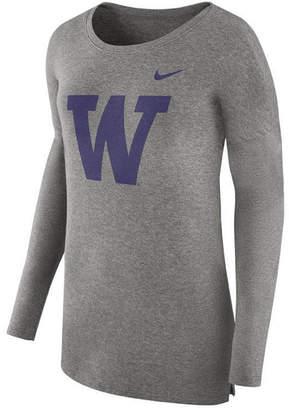 Nike Women's Washington Huskies Cozy Long Sleeve T-Shirt