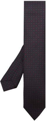 Kiton all-over print tie