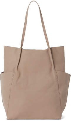 Steven Alan Taupe Dermot Leather Tote