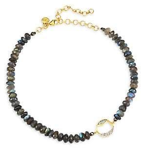 Shana Gulati Women's Diamond Bead Tonsa Collar Necklace
