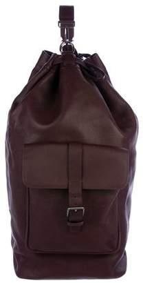 Giorgio Armani Perforated Leather Laundry Bag