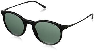 Polo Ralph Lauren Men's 0PH4096 Round Sunglasses