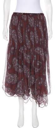 See by Chloe Silk Crepe Skirt