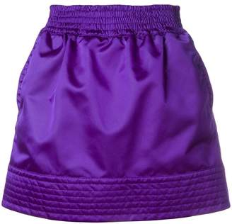 No.21 high shine sporty skirt