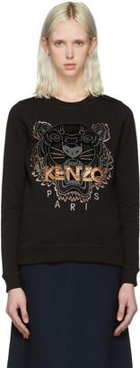 Kenzo Black Tiger Sweatshirt $245 thestylecure.com