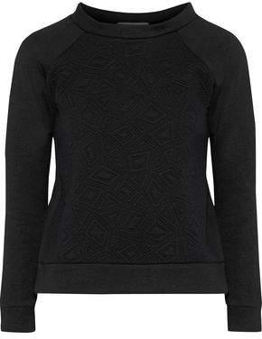 Kain Label Hudson Matelassé Cotton-Fleece Sweatshirt