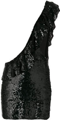 Filles a papa one-shoulder sequin dress