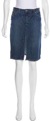 Dolce & Gabbana Vintage Denim Skirt