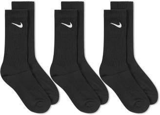 Nike Cotton Cushion Crew Sock - 3 Pack
