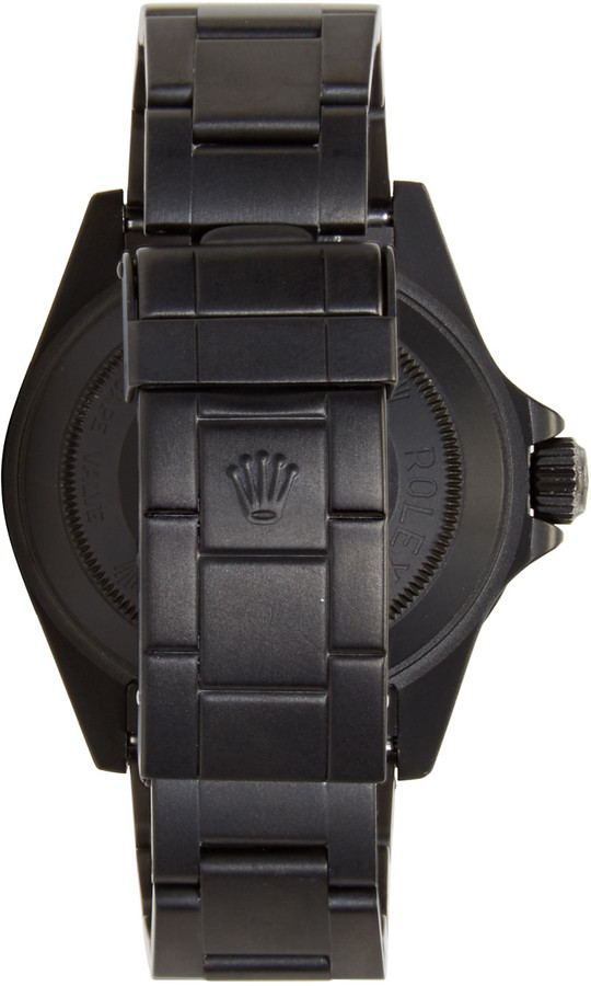 Black Limited Edition Matte Black Limited Edition Rolex Sea Dweller Watch 2