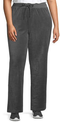 ST. JOHN'S BAY SJB ACTIVE Active Velour Pant - Plus