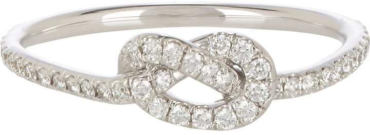 Finn Women's Pavé Love Knot Ring