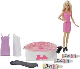 Barbie Spin Art Designer with Blonde Doll