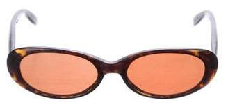 Kieselstein-Cord Kiss the Frogg Oval Sunglasses