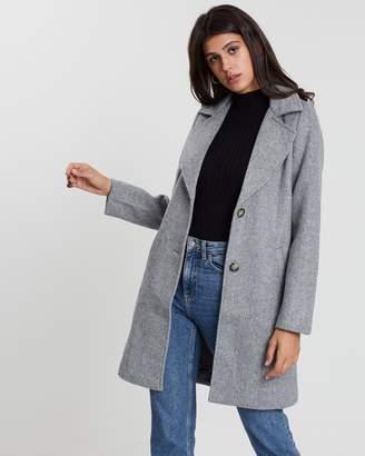 All About Eve Herringbone Coat