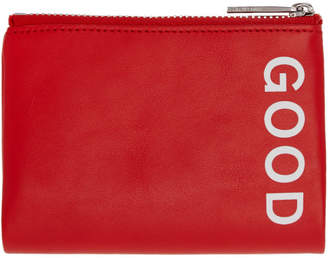 Paul Smith Red Good Zip Card Holder