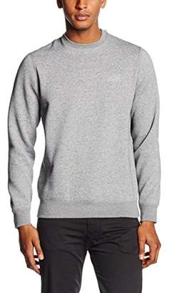 Armani Jeans Men's Regular Fit Logo Crewneck Sweatshirt