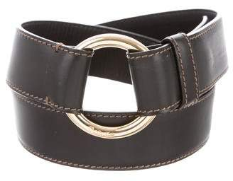 Loro Piana Leather Buckle Belt