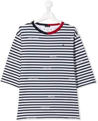 Tommy Hilfiger Junior TEEN striped T-shirt
