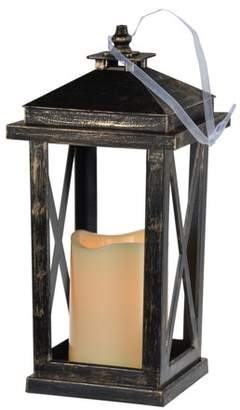 A&B Home Menifee Indoor Lantern with LED Candle