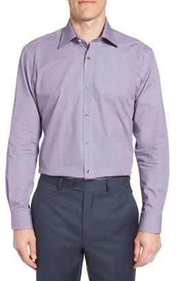 Ted Baker Trafalf Trim Fit Print Dress Shirt