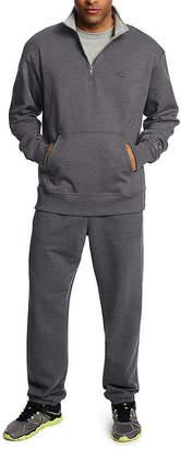 Champion Powerblend Fleece Quarter-Zip Pullover Athletic