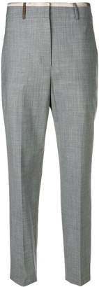 Peserico cropped tapered trousers