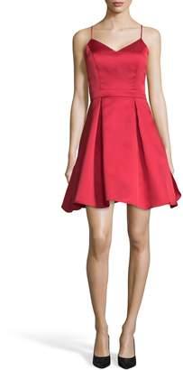 Xscape Evenings Bow Back Satin Party Dress