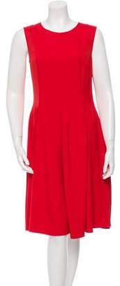 Agnona Pleated A-Line Dress w/ Tags