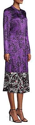 Escada Women's Dillasa Splatter Print Silk Midi-Dress
