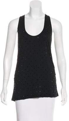 Givenchy Embellished Sleeveless Top