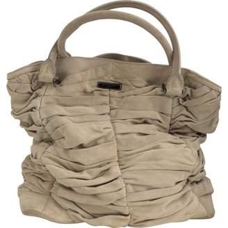 Burberry Beige Suede Handbag