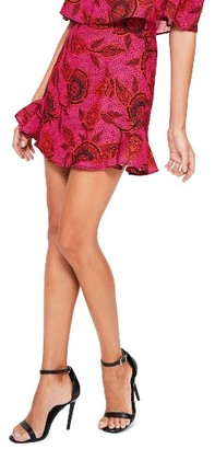 Women's Missguided Print Frill Skirt $58 thestylecure.com