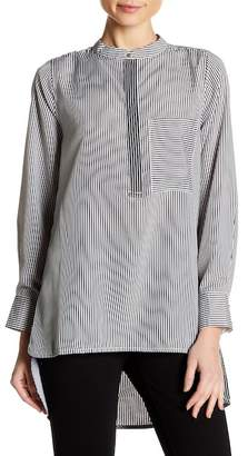 Insight Striped Hi-Lo Tunic
