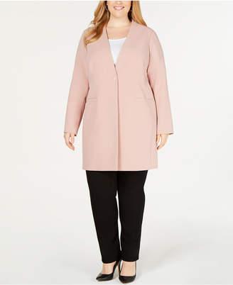 Alfani Plus Size Long Blazer, Created for Macy's