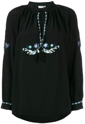 Vilshenko Zeta embroidered blouse