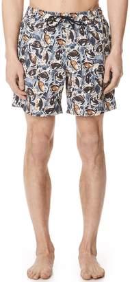 Billy Reid Crab Swim Trunks