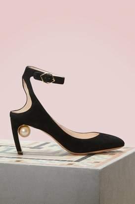 Nicholas Kirkwood Lola Suede Sandals