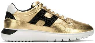Hogan Interactive metallic sneakers