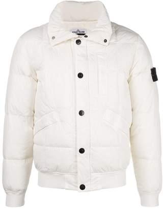 Stone Island snap-button padded jacket