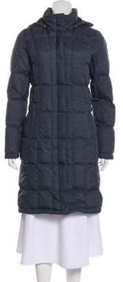 The North Face Quilted Knee-Length Coat